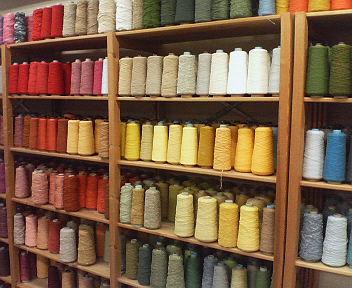 ウール糸の難