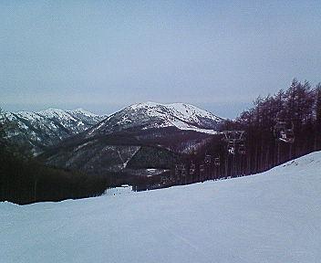 謹賀新年 From <br />  湯ノ丸スキー場