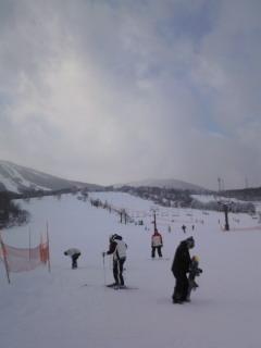 安比スキー ⑥本日は晴天なり