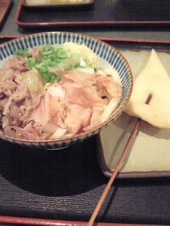 愛媛・香川の旅(15)<br />  肉ぶっかけ(<br />  かな泉)