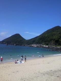屋久島の旅(3)<br />  一湊海水浴場