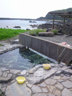 屋久島の旅(14)<br />  湯泊温泉