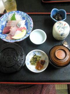 屋久島の旅(21)<br />  地魚のお刺身